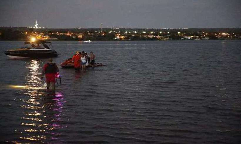 O subtenente da PM desapareceu no lago no último domingo. Foto: Divulgação/CBMDF