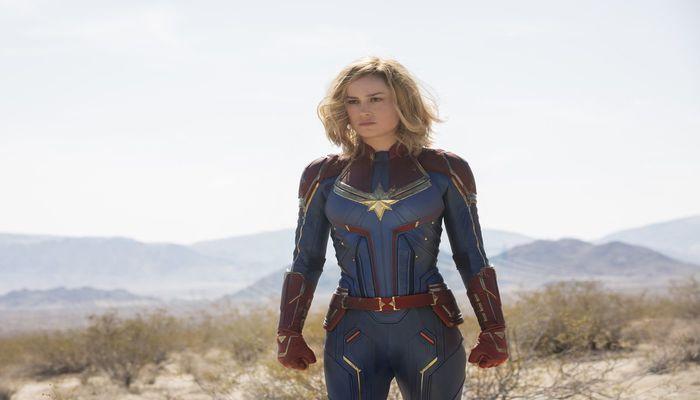 Brie Larson do drama com Oscar ao papel de Capitã Marvel. Foto: Divulgação