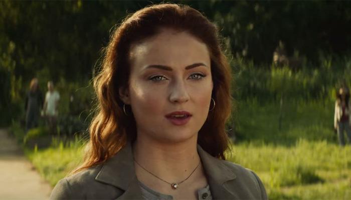 Sophie Turner na pele de Jean Grey no novo filme da franquia X-Men, que estreia em junho de 2019. Foto: Reprodução