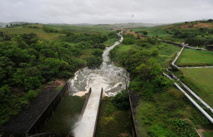 Barragem Tapacurá. Foto: Teresa Maia/Arquivo/DP