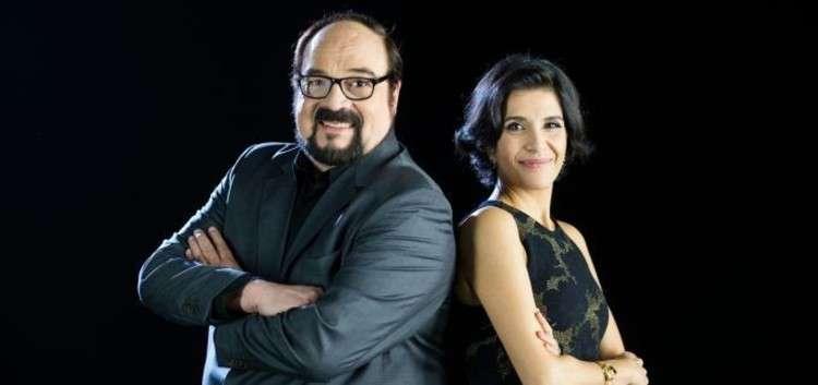 Rubens Ewald Filho e Domingas Person foram os comentaristas da TNT no Oscar 2017. Foto: Divulgação/TNT
