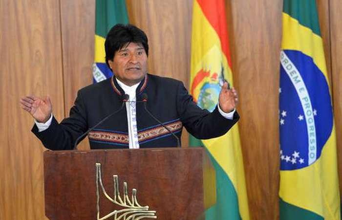 Evo Morales, presidente da Bolívia. Foto: Antônio Cruz/Agência Brasil