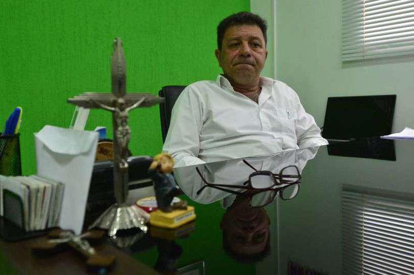 José Aparecido Alves Diniz, prefeito de Abadiania. Foto: Marcelo Ferreira/CB/D.A Press
