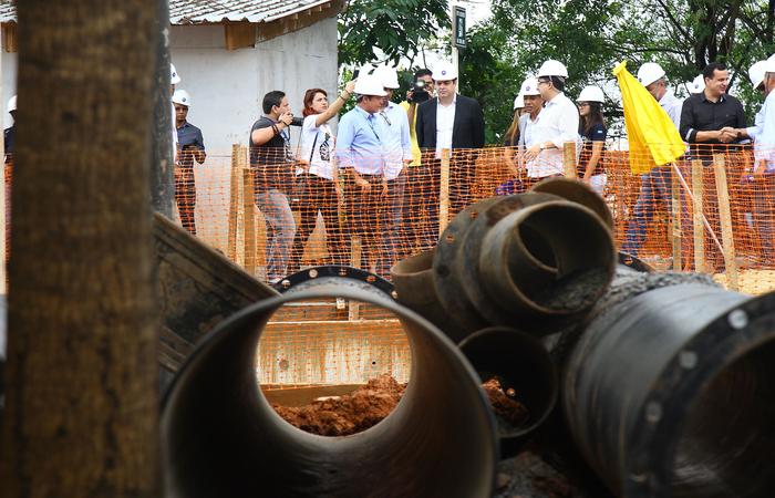 Ideia é implementar uma nova rede de esgoto em dez anos na Região Metropolitana. Foto: Roberto Pereira/SEI/Divulgacao