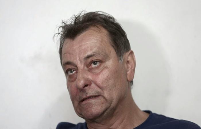 Cesare Battisti em foto de 20 de outubro de 2017 durante entrevista à AFP em Cananeia, São Paulo. Foto: AFP