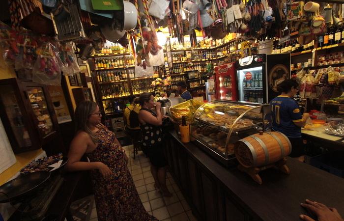 Bodega do Veio já se tornou um ponto de encontro de quem vai à Cidade Alta. Foto: Marina Curcio/Esp.DP