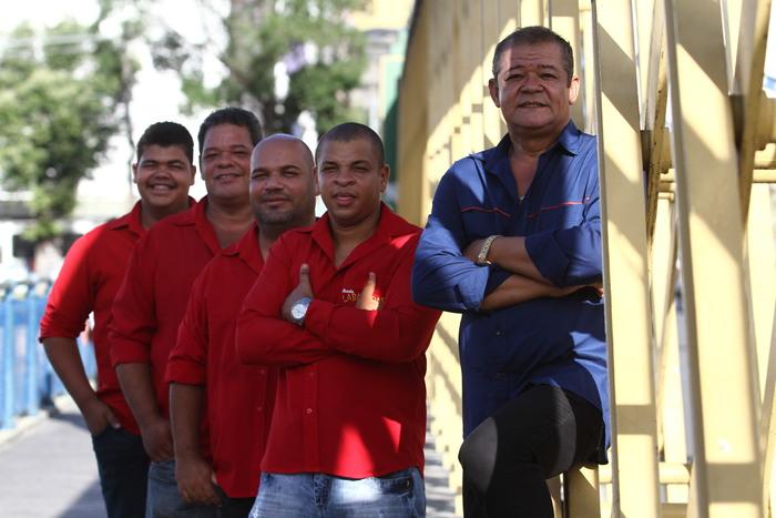 Banda Labaredas. Foto: Paulo Paiva/DP