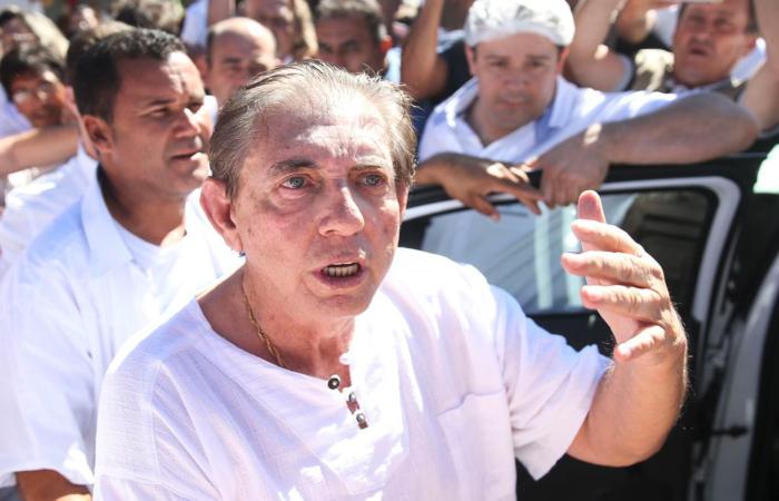 João de Deus pode ser preso por qualquer autoridade policial brasileira ou estrangeira, com auxílio da Interpol, caso saia do país. Foto: Marcelo Camargo/Agência Brasil.