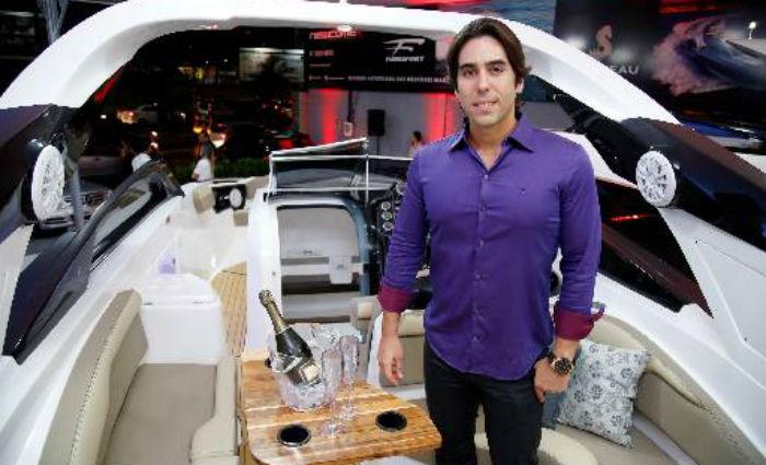Jonas já produziu lanchas que já atravessaram o oceano e foram vendidas na Europa. Foto: Gleyson Ramos/Divulgacao (Foto: Gleyson Ramos/Divulgacao)