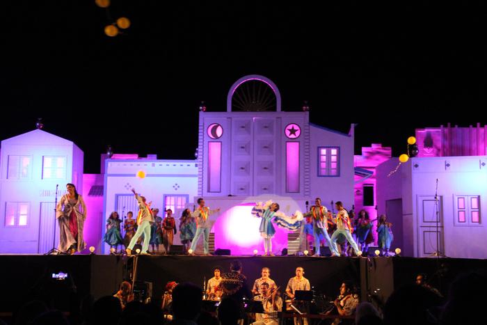 O texto da peça faz parte da série literária Trilogia das festas brasileiras. Foto: Gianny Melo/Divulgação