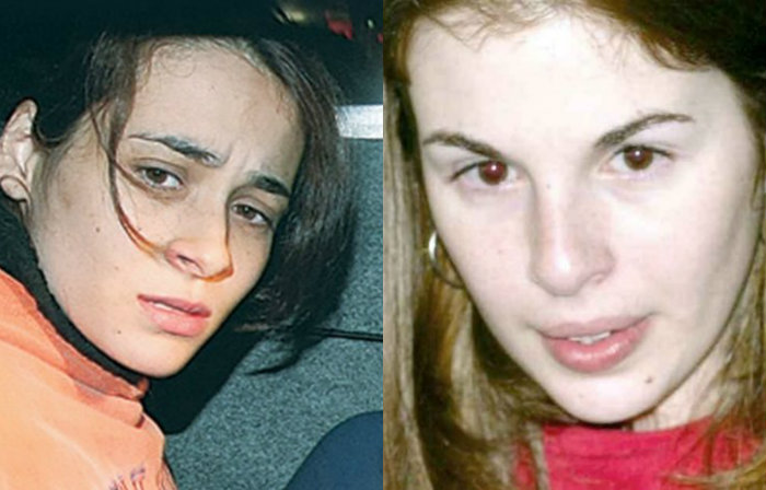 Anna Carolina Jatobá e Suzane von Richthofen. Fotos: Tuca Vieira/Folha Imagem e Raimundo Pacco/Folha Imagem