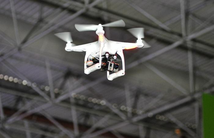 No Reino Unido, o uso de drones perto de aeroportos é punido com pena de prisão de até cinco anos. Foto: Evilyn Guedes/Campus Party Brasil/Fotos Públicas