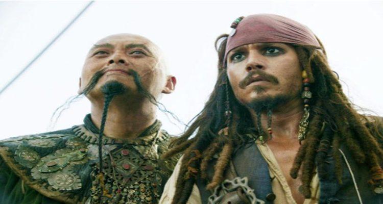 Sua participação no filme Piratas do Caribe, lançado em 2007. Foto: Reprodução/ Internet