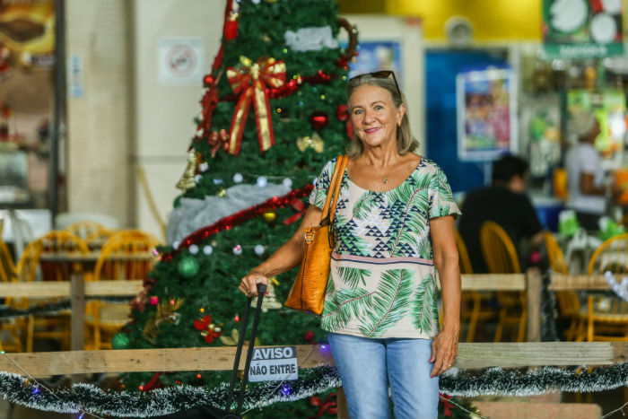 Juvita Veras é pernambucana, mas mora no Rio de Janeiro. Foto: Camila Pifano/Esp.DP.