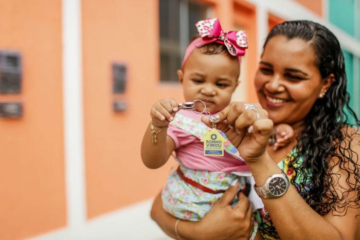 A entrega faz parte do Programa de Aceleração do Crescimento (PAC) Beberibe. Foto: Andréa Rêgo Barros/Divulgação.