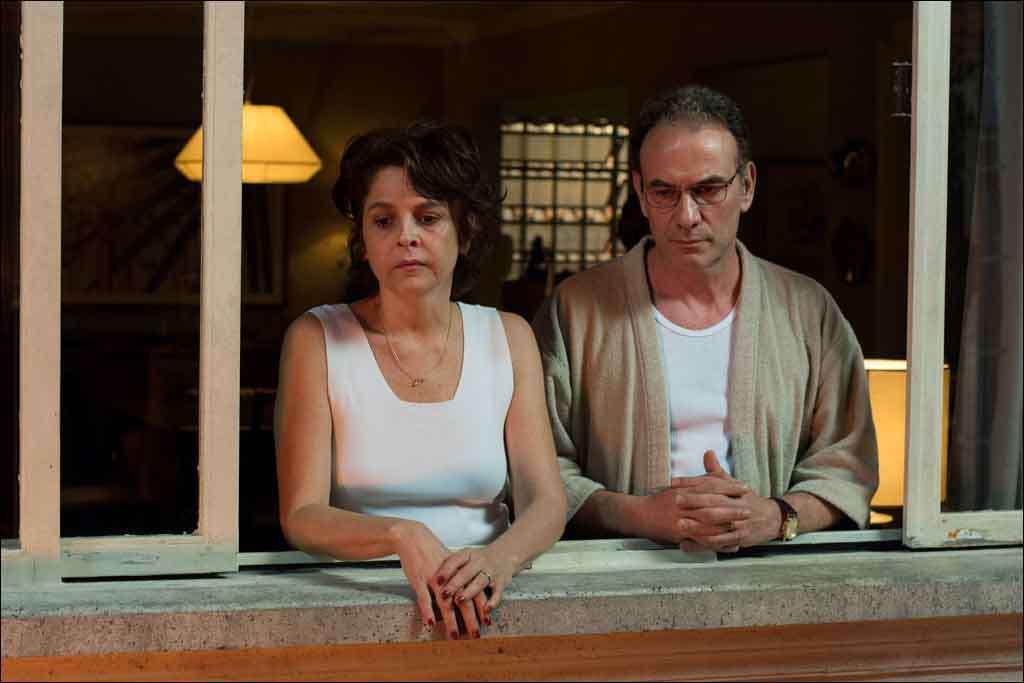 Drica Moraes e Marco Ricco no filme de Jorge Furtado: a mãe no meio do conflito entre o marido e o filho (foto: Fábio Rebelo/Divulgação)