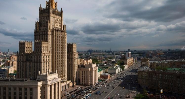 Prédio do Ministério russo das Relações Exteriores, em Moscou. Foto: Joel Saget/ AFP