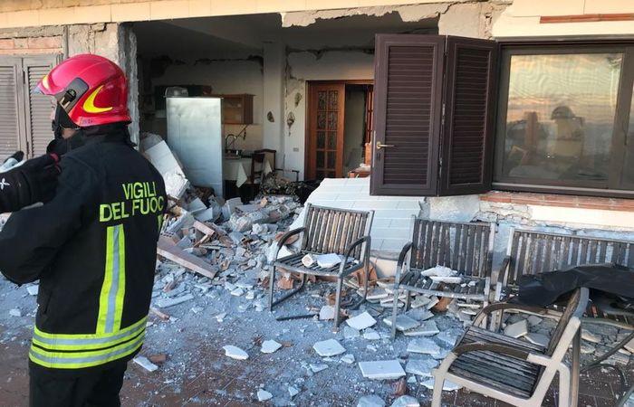 Foto: Divulgação/Corpo de Bombeiros da Catânia (Foto: Divulgação/Corpo de Bombeiros da Catânia)