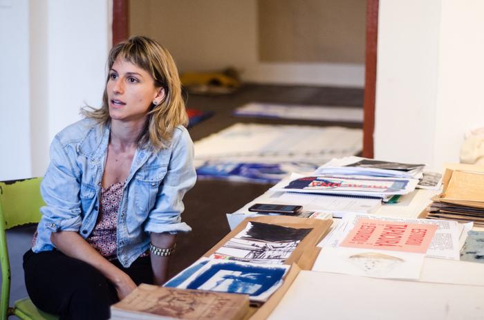 Joana Passi é artista plástica filha de Geneton Moraes. Foto: Jan Ribeiro/ Secult-PE