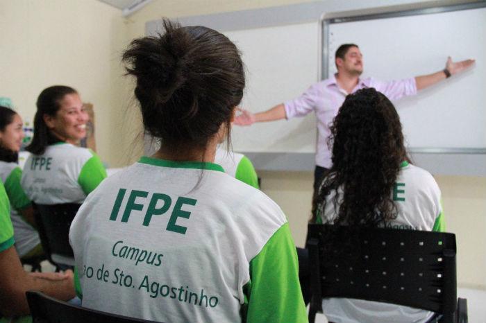 Atualmente, são ofertados no campus Cabo três cursos técnicos subsequentes. Foto: IFPE/Divulgação.