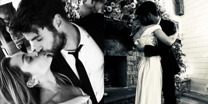 O casal estrelou o drama romântico 'The last song', de 2010. Fotos: Reprodução do Instagram.