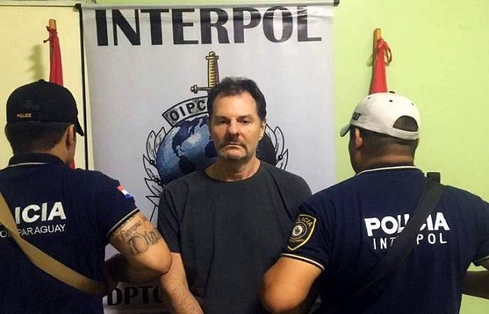 A prisão do doleiro ocorreu um dia depois de terem sido feitas duas operações no mesmo endereço em busca de Farina, de acordo com o Ministério do Interior do Paraguai. Foto: Interpol/Fotos Públicas
