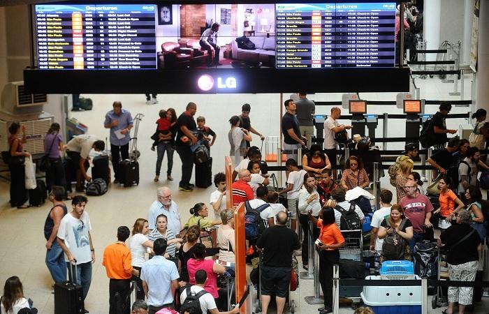 Movimentação no Aeroporto Santos Dumont. Foto: Tânia Rego/Agência Brasil/Fotos Públicas