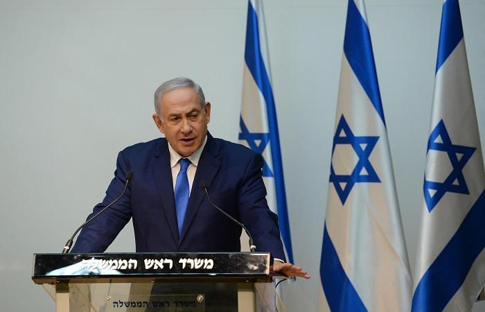 Netanyahu seguirá para o hotel onde ficará hospedado, o Hilton de Copacabana, e, às 14h, almoça com o presidente eleito do Brasil, Jair Bolsonaro, no Forte de Copacabana. Foto: Kobi Gideon/GPO/Fotos Públicas