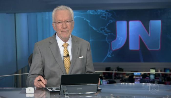 O jornalista ingressou na emissora carioca em 1980. Foto: Reprodução/TV Globo