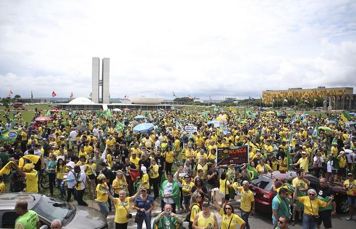 A medida tem o objetivo de combater eventuais ameaças à segurança durante o evento. Foto: José Cruz/Agência Brasil/Fotos Públicas