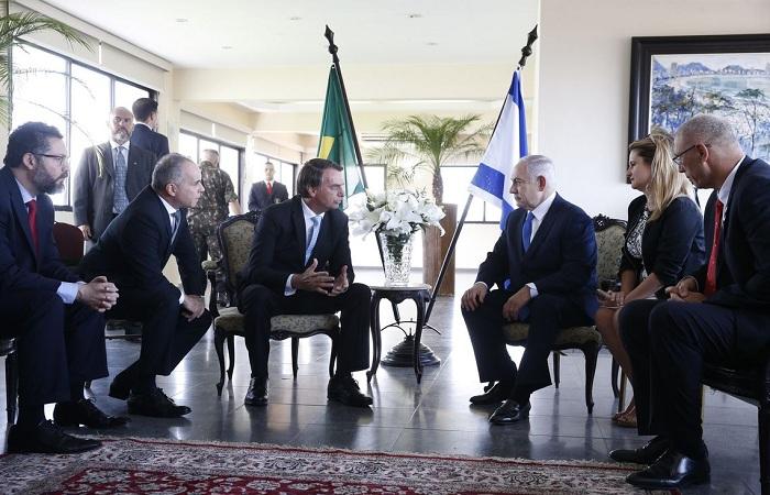 Primeiro ministro israelense e presidente eleito brasileiro conversam nesta sexta-feira. Foto: Fernando Frazão/Agência Brasil