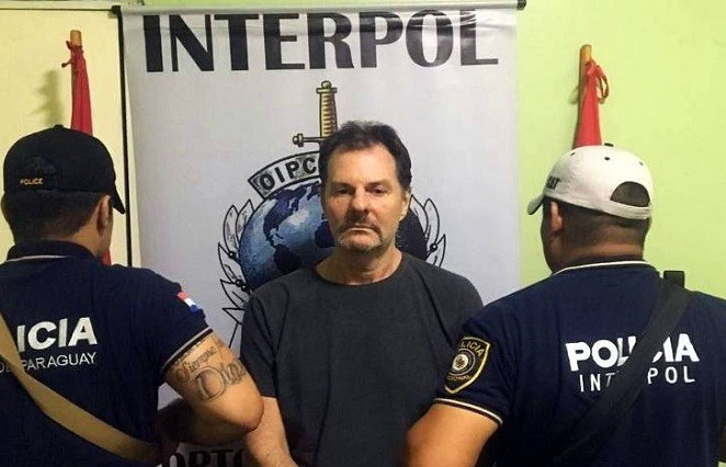 Farina era procurado pela ação Lava Jato. Foto: Interpol / Fotos Públicas