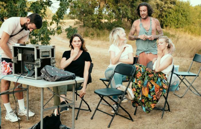 Set de filmagem da diretora Erika Lust, símbolo do pornô feminista. Foto: Erika Lust/Divulgação