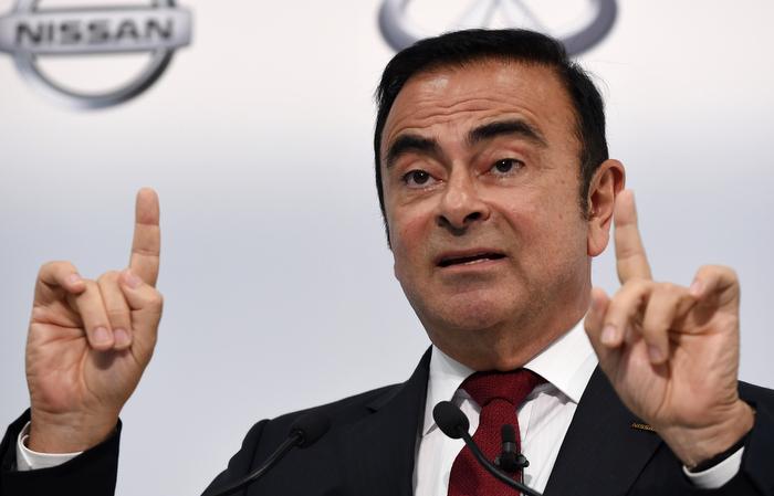 Carlos Ghosn, que continua sendo o presidente da Renault, está detido no Japão desde 19 de novembro. Foto: Toshifumi KITAMURA / AFP