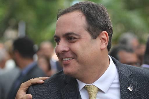 Com semblante otimista, governador disse que fará muitas entregas em 2019. Foto: Nando Chiappetta/DP