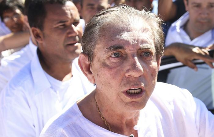Médium foi atendido nesta quarta-feira (02) após passar mal no presídio. Foto: Marcelo Camargo/Agencia Brasil