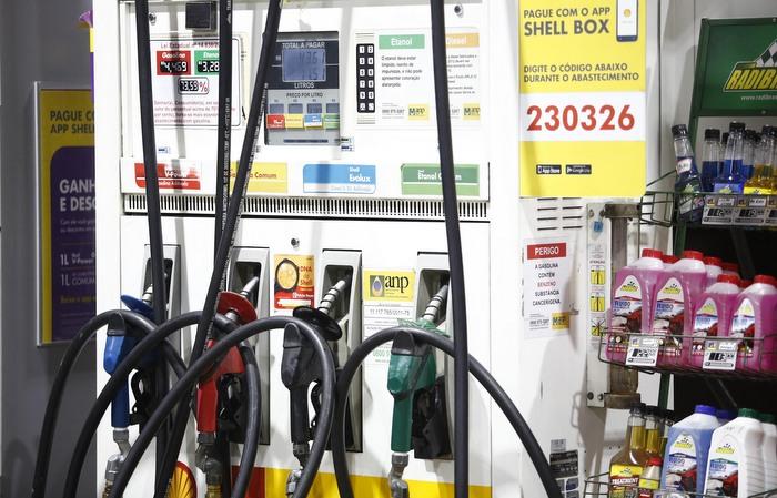 Reajuste é para a gasolina tipo A. Foto: Paulo Paiva/DP