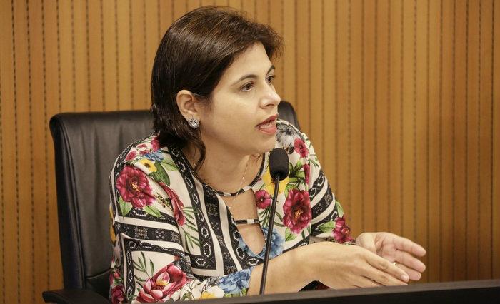 (Priscila Krause é cotada como líder da oposição ao governo Paulo Câmara Foto: Divulgação - Alepe)