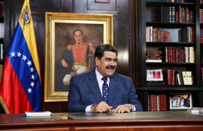 Foto: Marcelo Garcia / Venezuelan Presidency/ AFP