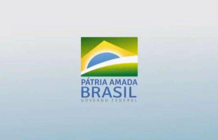 Marca traz a bandeira brasileira, com o losango amarelo aparecendo como o sol nascendo por trás de uma montanha verde. Foto: Twitter / Reprodução