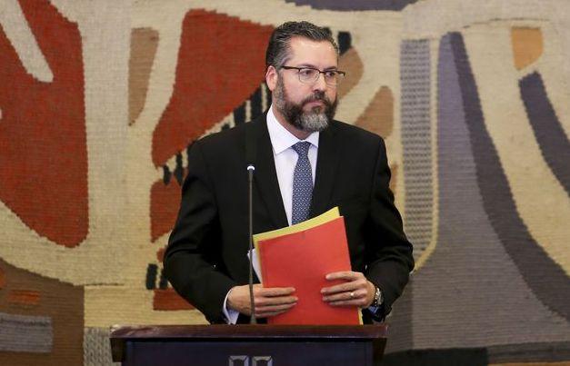 O ministro das Relações Exteriores, Ernesto Araújo. Foto: Fabio Rodrigues Pozzebom/Arquivo/Agência Brasil