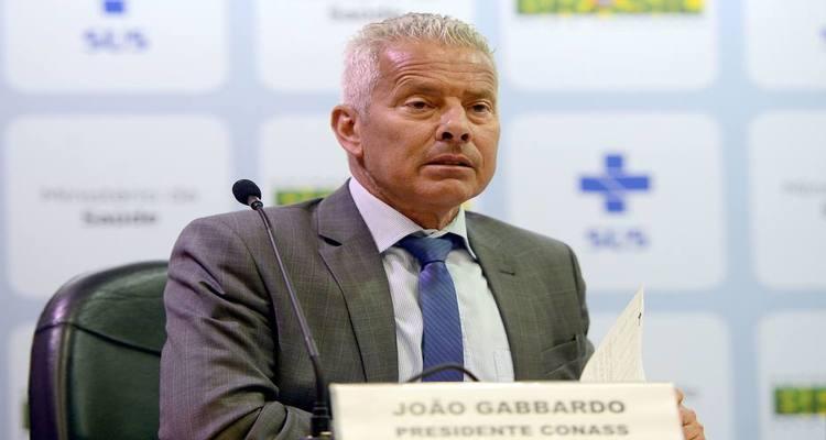 O secretário executivo do Ministério da Saúde no governo Jair Bolsonaro, o médico João Gabbardo dos Reis Foto: Elza Fiúza/Agência Brasil