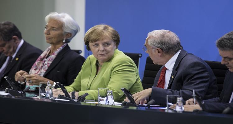 A chanceler alemã Angela Merkel teve seus seus dados vazados.  Foto: Hermann Bredehorst / OECD Berlin
