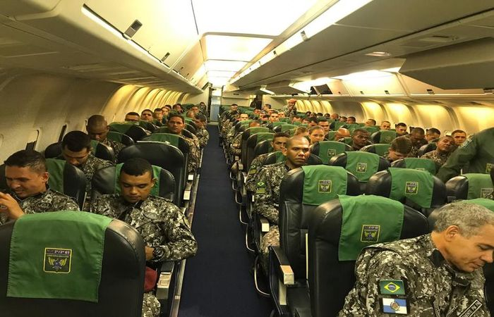 Homens da Força Nacional de Segurança são enviados ao Ceará - Foto:  Ministério da Justiça e Segurança Pública/Divulgação