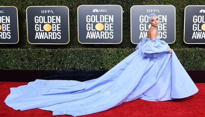 Protagonizado por Lady Gaga e Bradley Cooper, o longa Nasce uma Estrela recebeu o prêmio de melhor canção original. Foto: AFP