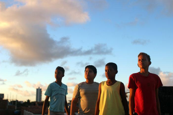 Todas as crianças que participam do projeto são da própria comunidade e nunca haviam participado de uma produção cinematográfica. Foto: Priscila Liberal e Emerson Marinho/Divulgação