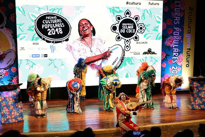 O Prêmio Culturas Populares homenageou a cantora Selma do Coco, falecida em 2015. Foto: Clara Angeleas/MinC/Divulgação