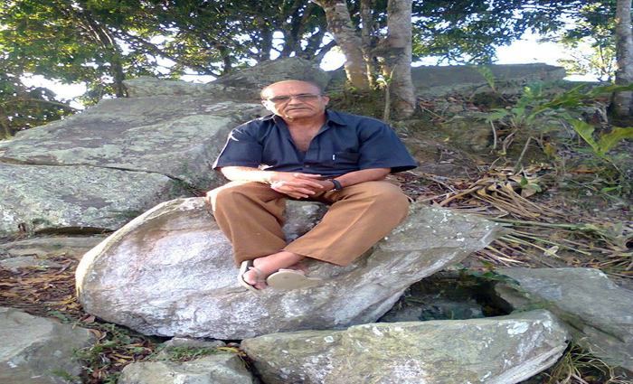 Zito mora no Engenho Galileia desde 2000. Ele é um dos responsáveis por manter a memória vida do local. Foto: arquivo pessoal