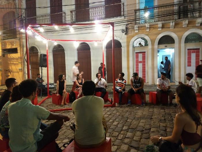 Estimular atividades é uma das alternativas para dar uso à via. Foto: Maira Brandão/Divulgação.