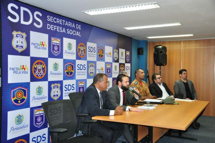Os detalhes foram apresentados em coletiva na manhã desta terça, na sede da secretaria. Foto: SDS/Divulgação.